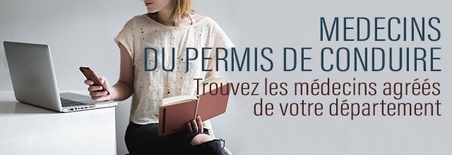 Liste Des Medecins Agrees Pour Le Permis De Conduire Par Departement