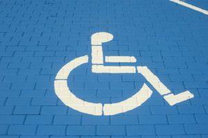 Stationnement handicapé